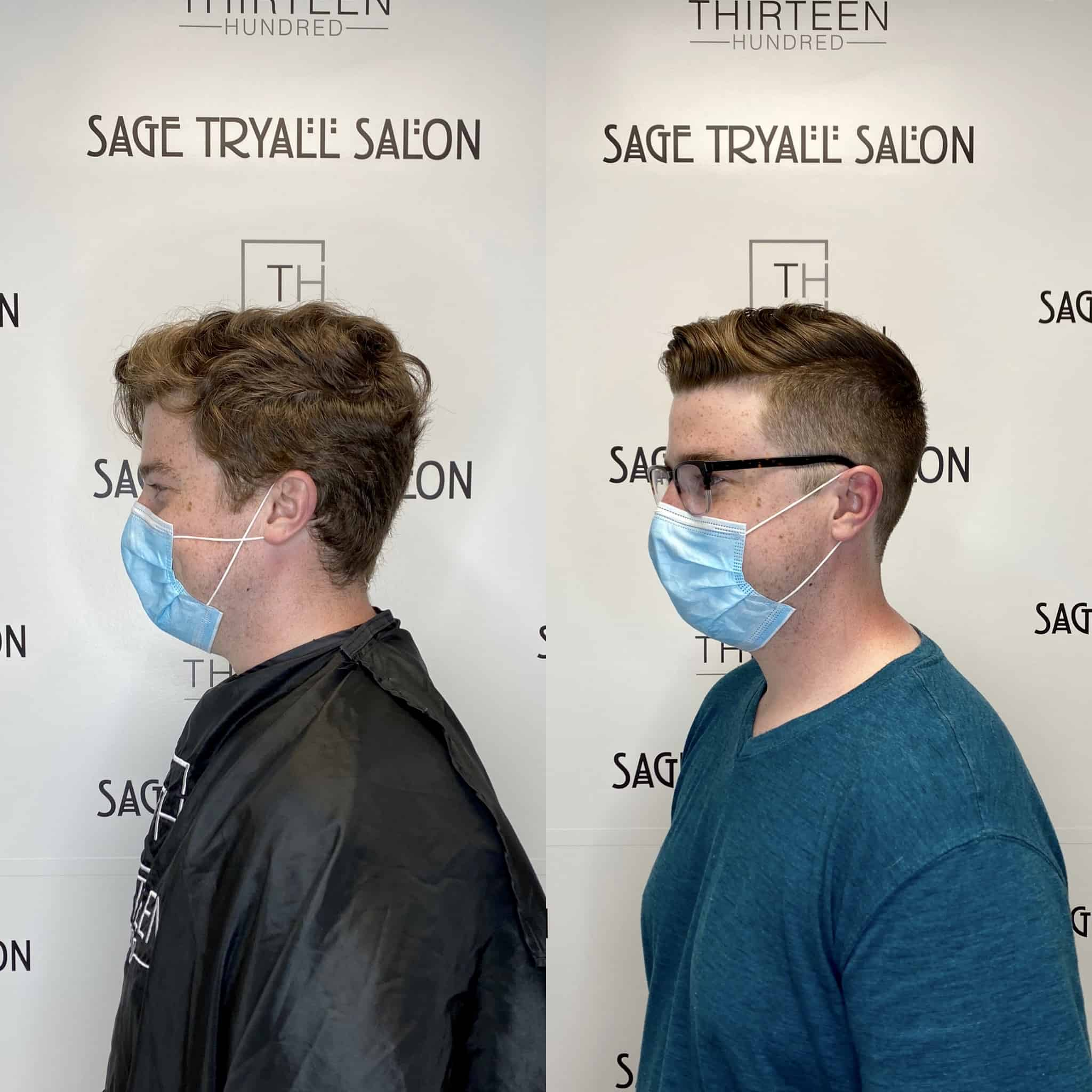 Men's Haircut before and after – Hair by Ariella